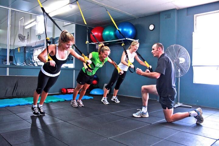Groepstraining sportschool